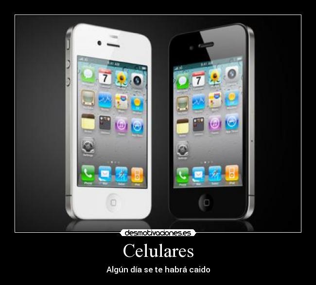 carteles celular celulares iphone caido calle dia desmotivaciones