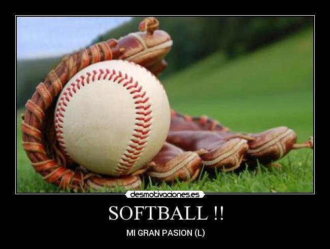 Softball Desmotivaciones