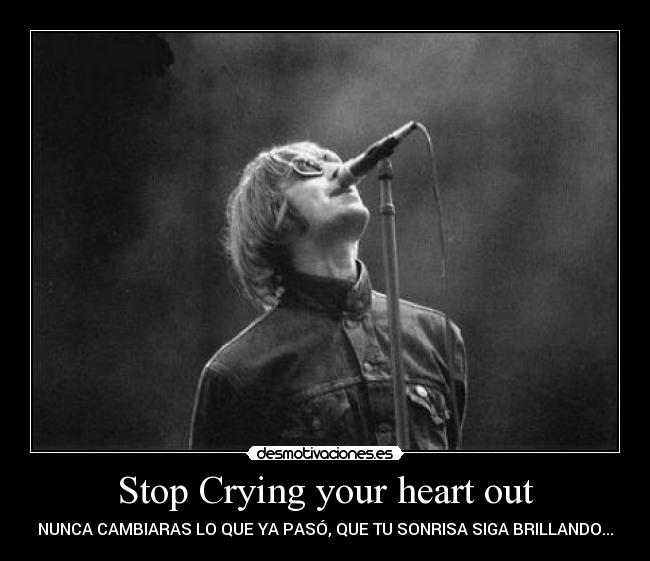 how to play stop crying your heart out