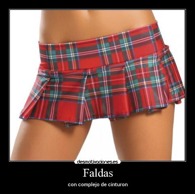 carteles falda mini cinturon desmotivaciones cd23112ee7c9