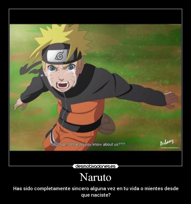Desmotivaciones y Enseñansas de Naruto XD - Taringa!