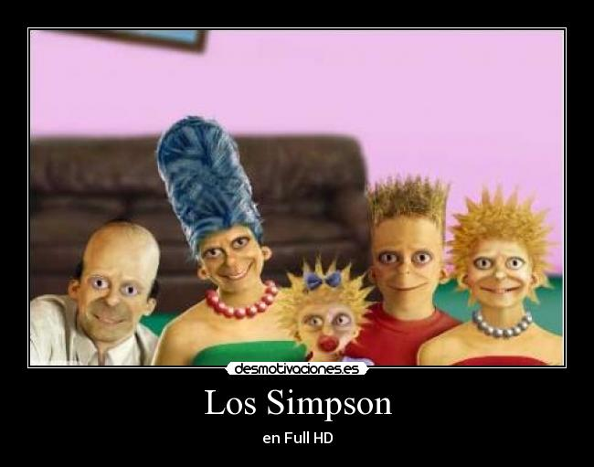 Los Simpson - en Full HD