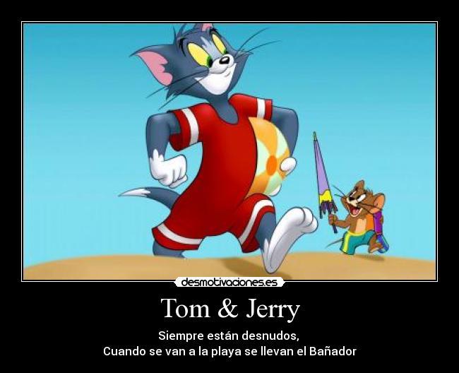 Marco para fotos de Tom y Jerry Fotomontaje Online