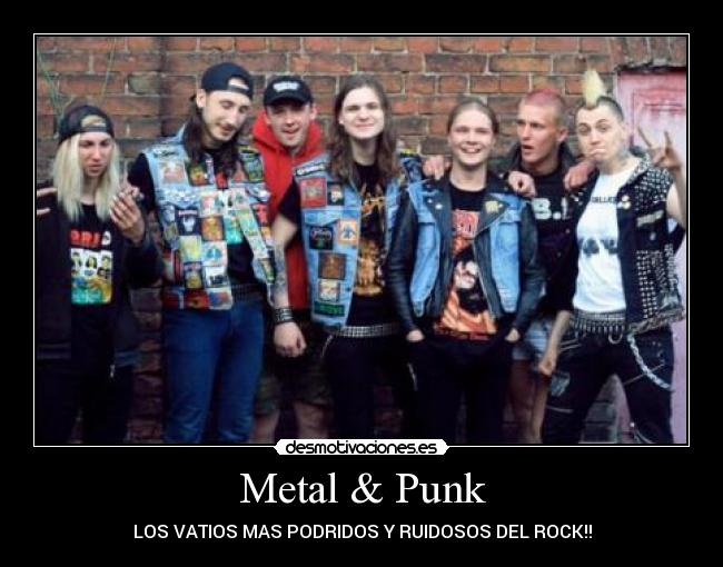 el punk metal: