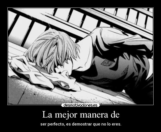 carteles light yagami death note ryuk desmotivaciones