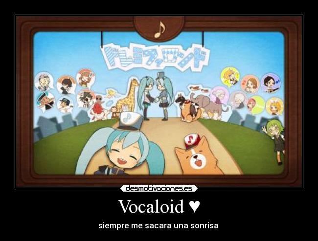 Carteles Vocaloid Miku Hatsune Rondo Nahabianime Desmotivaciones