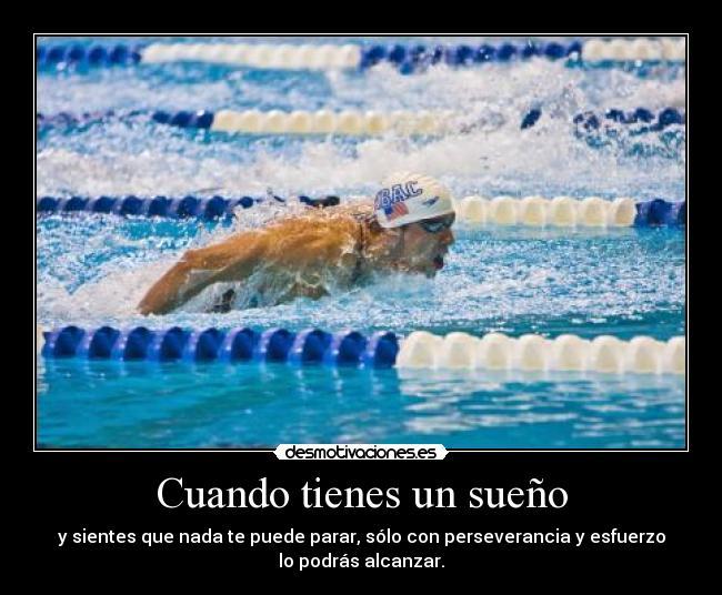 phelps natacion deporte suenos perseverancia esfuerzo desmotivaciones