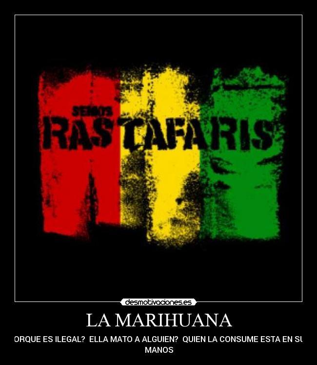 carteles marihuana rastafaris desmotivaciones