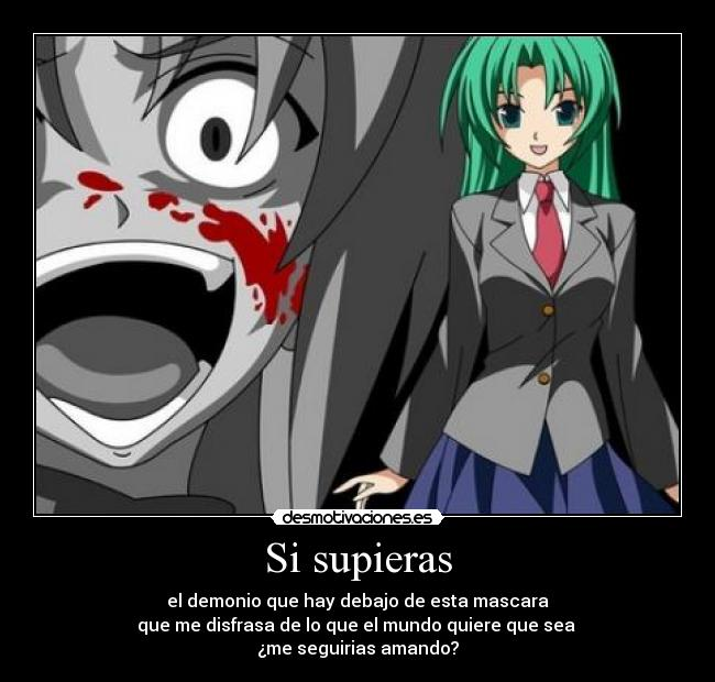 Desmotivate si supieras for Imagenes de anime gore