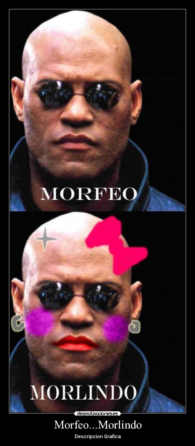 Morfeo...Morlindo - Descripcion Grafica