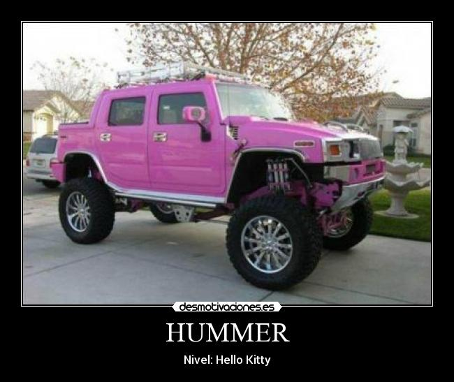HUMMER - Nivel: Hello Kitty