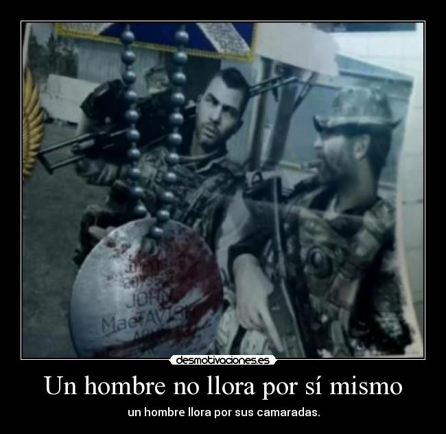 carteles soap mactavish price muerte soap call duty modern warfare desmotivaciones