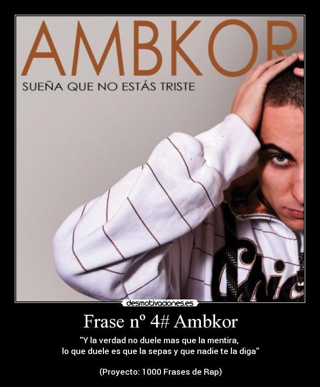 Frase Nº 4 Ambkor Desmotivaciones