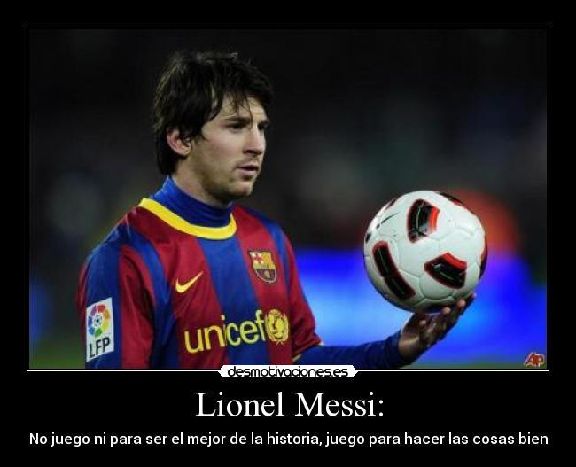Desmotivaciones Messi