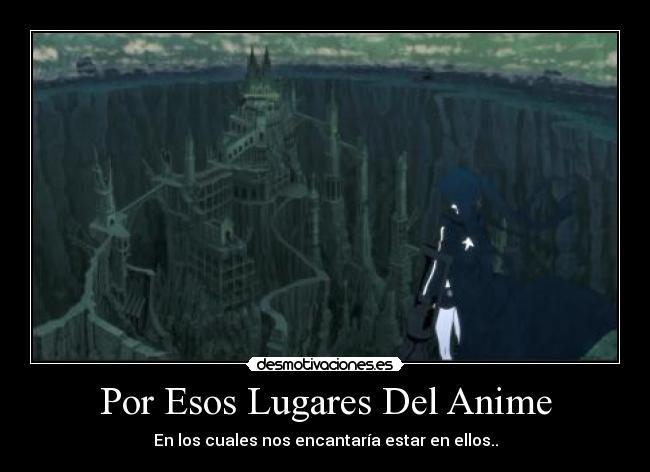 carteles anime anime manga black rock shooter mato yomi lugares paisajes sueno forbiddendarksoul desmotivaciones