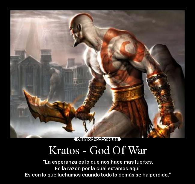 Kratos God Of War Desmotivaciones