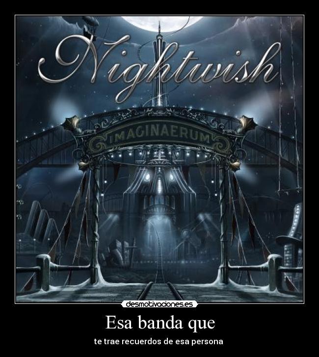 nightwish desmotivaciones