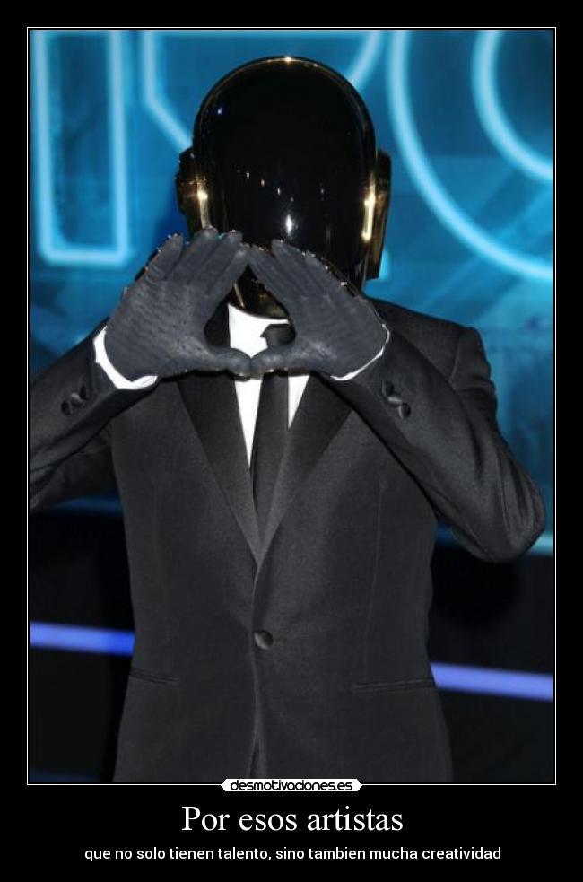Desmotiva Daft Punk (Y motiva aun mas)