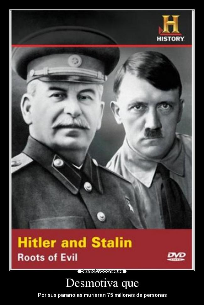 a comparison of communist rulers in adolf hitler and joseph stalin