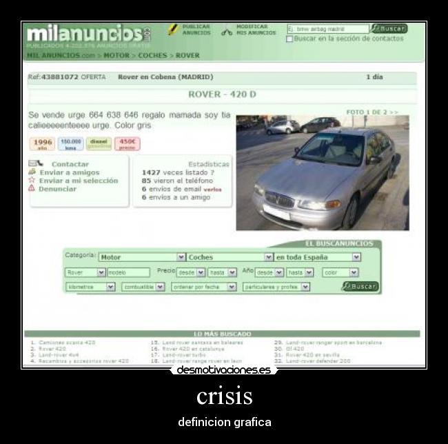 Anuncios graciosos de mil anuncios de coches forocoches for Poner anuncio en milanuncios