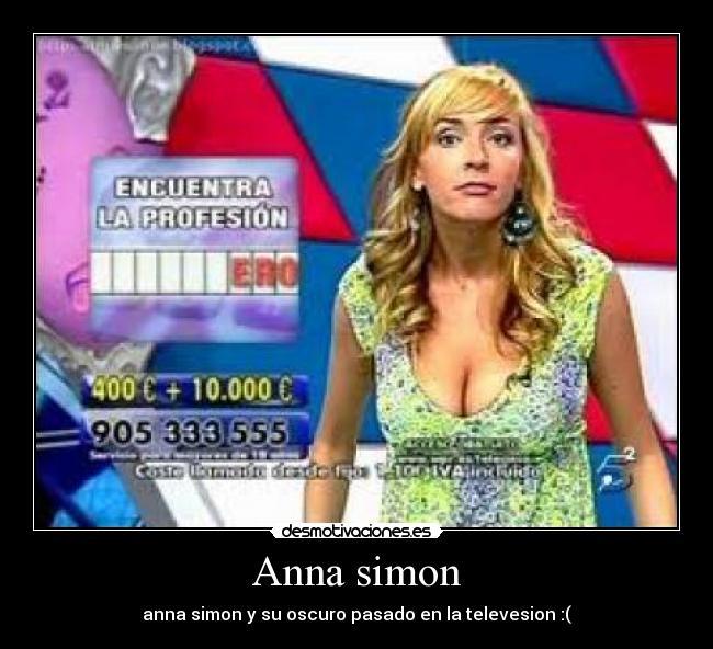 Anna simon - anna simon y su oscuro pasado en la televesion :(