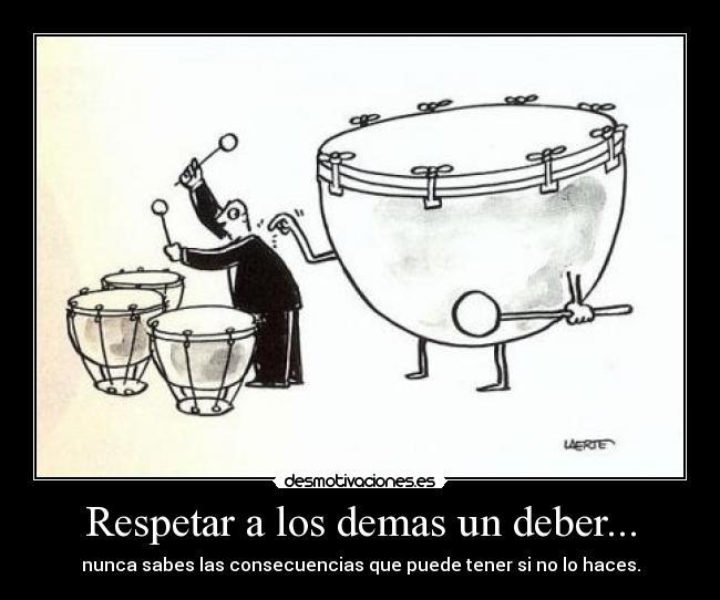 Respetar A Los Demas Un Deber