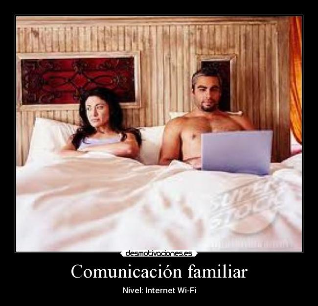 Comunicación familiar - Nivel: Internet Wi-Fi