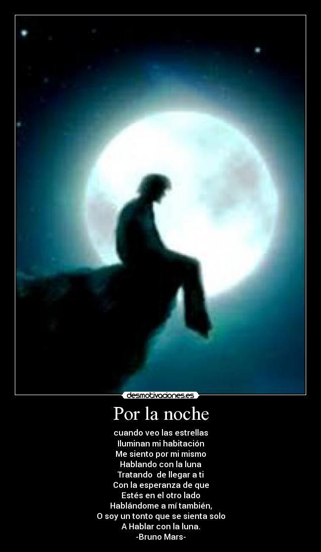 carteles hablar con luna enamorado bruno mars desmotivaciones