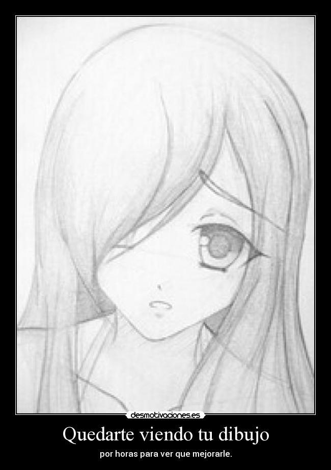 Carteles Dibujo Anime Desmotivaciones