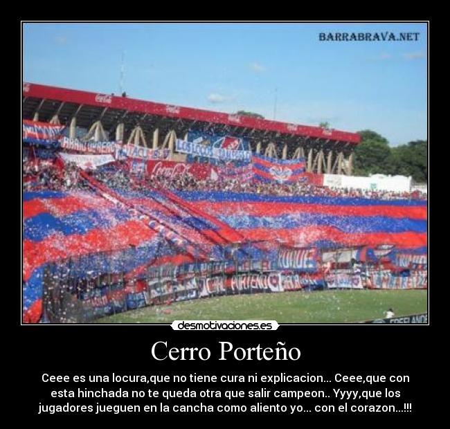 Cerro Porteño Desmotivaciones