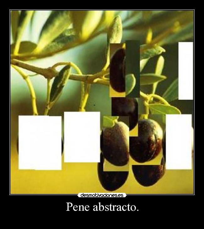 Pene abstracto. -