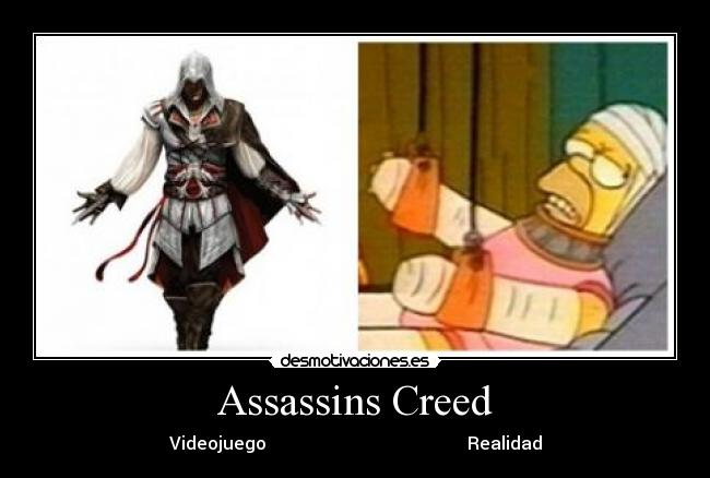 Assassins Creed - Videojuego                                              Realidad
