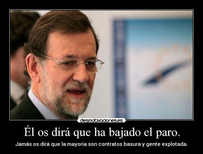 El rechazo de un empleo supondrá perder la prestación del paro Rajoy_bruselas
