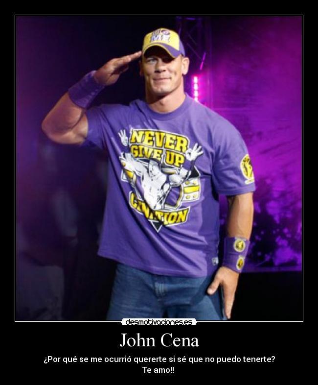 John Cena Desmotivaciones