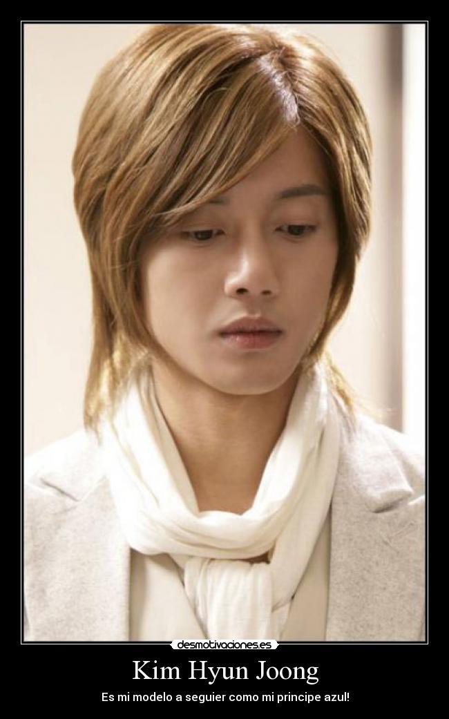SS501-Kim Hyun Joong fotos actuales de su sitio oficial