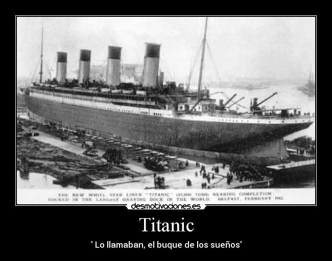carteles titanic james cameron desmotivaciones