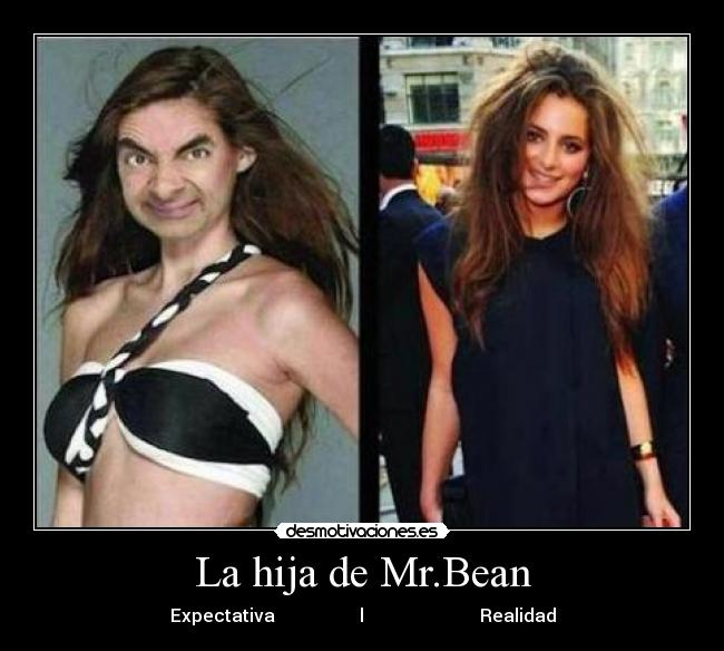 Hija De Mr Bean