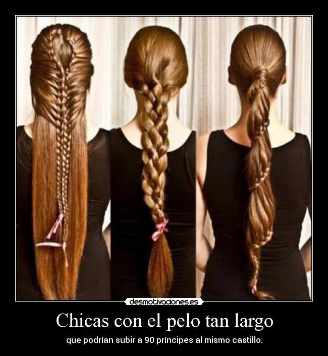 Memes de chicas pelo largo