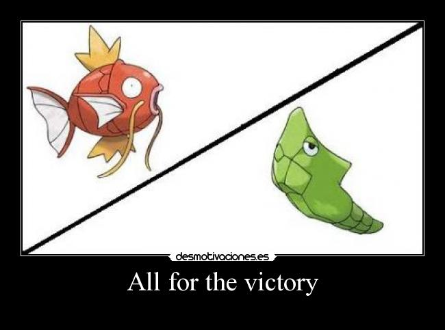 All for the victory -
