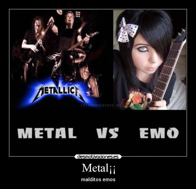 Metal vs emo