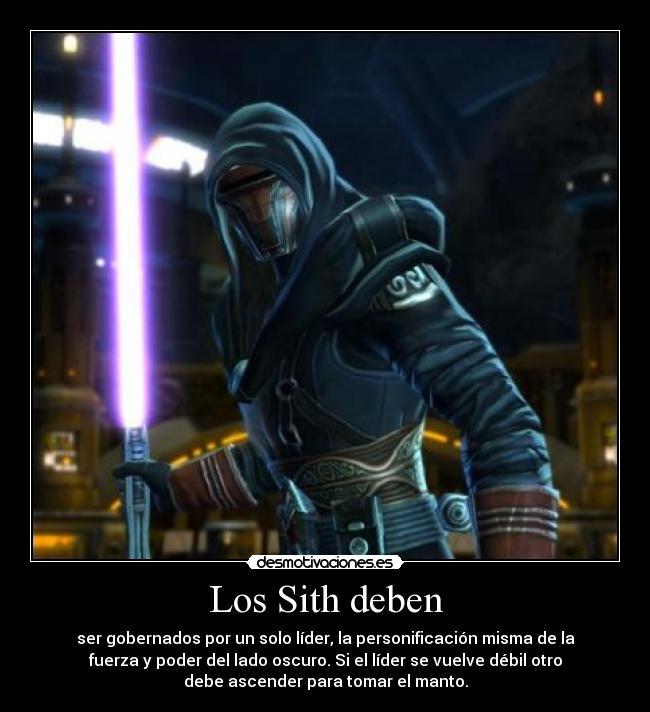 Codigo Sith StarWars_elRevanchista