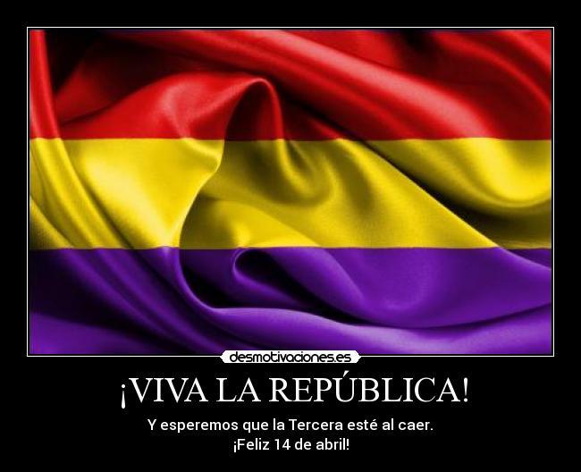 Feliz día de la República española