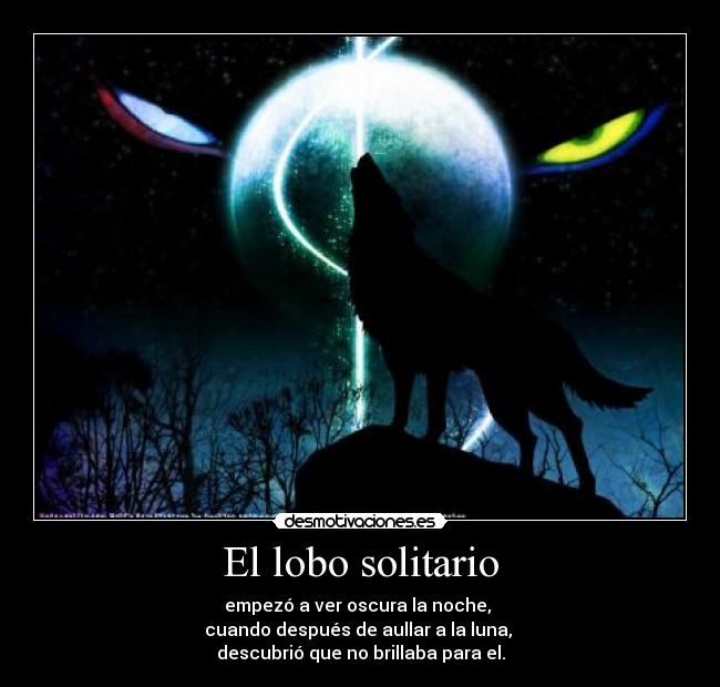 Frases De Lobo Solitario Imagui