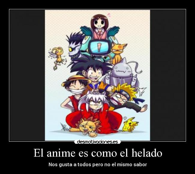 carteles anime anime bleach inuyasha pokemon death note naruto one piece goku dragon ball sakura card captor desmotivaciones