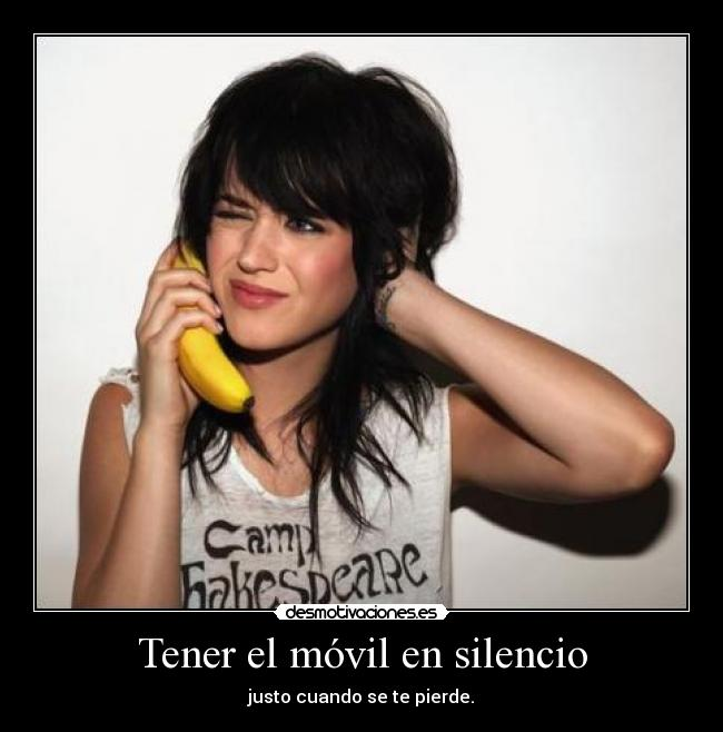 carteles silencio banana phone mushio mejor que cacaiphone intruders adveturetime tetodo sweetdream09 desmotivaciones