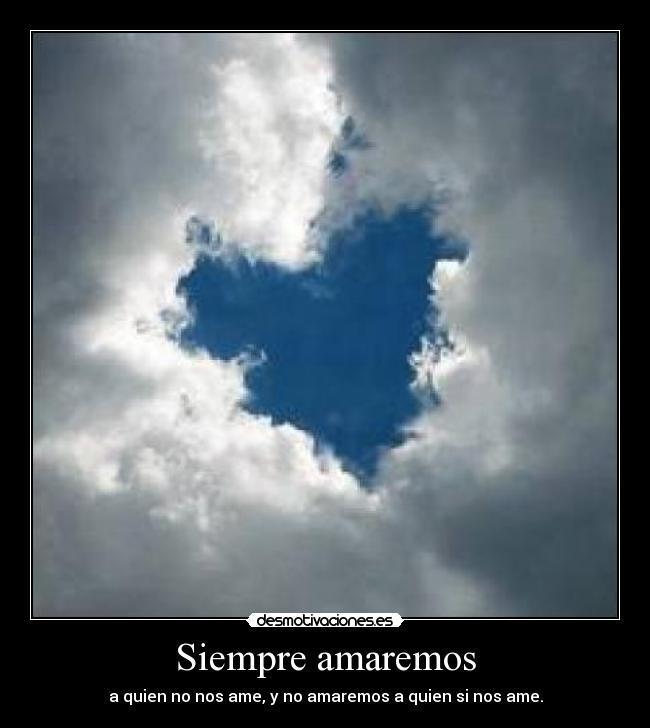 Nos Amaremos Siempre Siempre Amaremos a Quien no