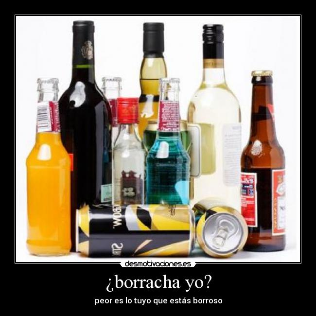 carteles alcohol borrachera borroso desmotivaciones