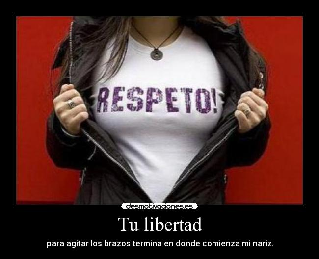 carteles libertad bbjdfs next time you point finger ill point you the mirror desmotivaciones