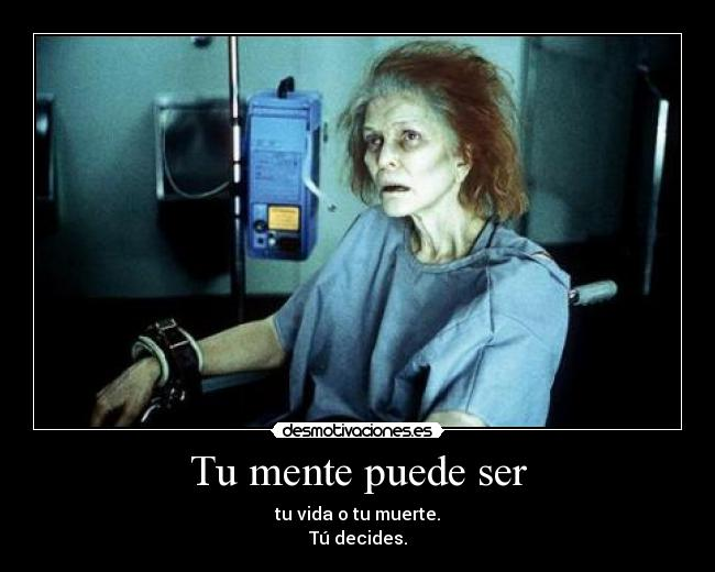 carteles decide bien anda zorra implakable requiem for dream desmotivaciones