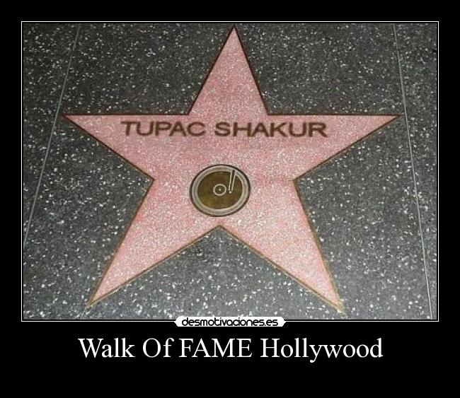 Walk Of FAME Hollywood -